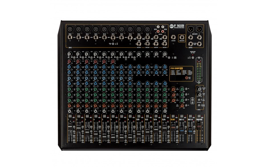 F 16XR | Mixer analogico