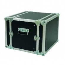 CR108BLKM | Flight case 8U